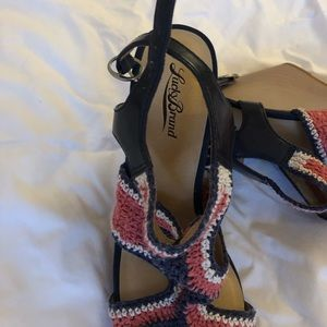 Lucky Brand Shoes - Lucky brand crocheted wedge sandals